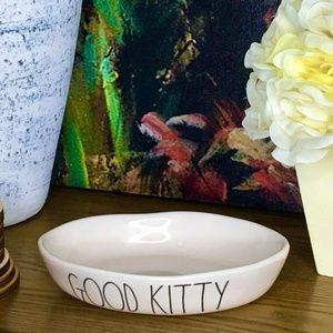 💕SOLD💕 NEW Rae Dunn GOOD KITTY Food Dish